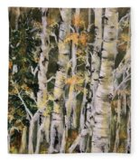 Aspen Hollow Fleece Blanket