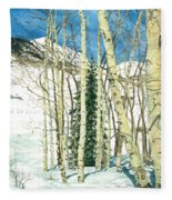 Aspen Shelter Fleece Blanket