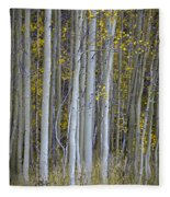 Aspen Stand Fleece Blanket