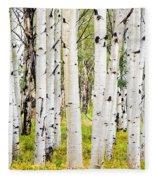 Aspens Fleece Blanket