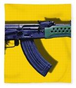 Assault Rifle Pop Art - 20130120 - V2 Fleece Blanket