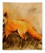 Assessing The Situation Antiqued Fleece Blanket