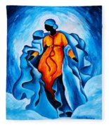 Assumption  Advocata Nostra Fleece Blanket