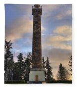 Astoria Column Fleece Blanket