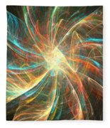 Astral Flower Fleece Blanket