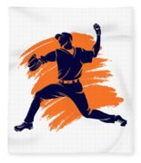 Astros Shadow Player2 Fleece Blanket