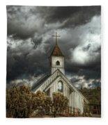 At Heaven's Door  Fleece Blanket