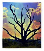 At Life's End There Is Light Fleece Blanket