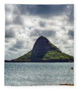 At Mokoli'i's Summit Fleece Blanket
