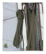 At Sail Fleece Blanket