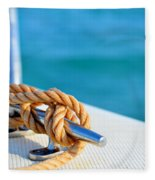 At Sea Fleece Blanket