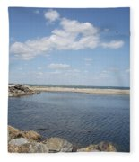 At The Bay  Fleece Blanket