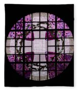 At The Cathedral Of Tampere Fleece Blanket