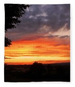 At The End Of The Day ... Fleece Blanket