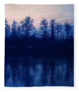 At The End Of The Day Fleece Blanket