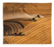 At The Point 2 Fleece Blanket
