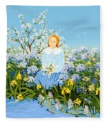 At The Shore Of Dreams Fleece Blanket