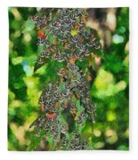At The Valley Of Butterflies In Rhodes Island Fleece Blanket