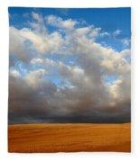 Clouds Over The Atacama Desert Chile Fleece Blanket