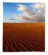 Atacama Desert Wilderness Fleece Blanket