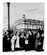 Atget Eclipse, 1912 Fleece Blanket