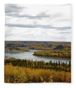 Athabasca Fall Fleece Blanket