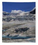 Athabasca Glacier 1 Fleece Blanket