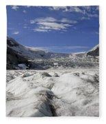 Athabasca Glacier Fleece Blanket