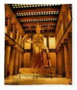 Athena Parthenos Fleece Blanket