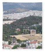 Athens 3 Fleece Blanket
