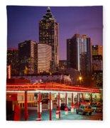 Atlanta Drive-in Fleece Blanket
