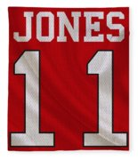 Atlanta Falcons Julio Jones Fleece Blanket