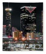 Atlanta Wide Angle Fleece Blanket