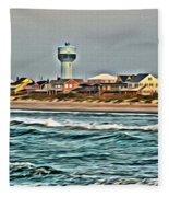 Atlantic Beach Fleece Blanket