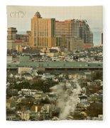 Atlantic City Fleece Blanket