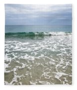 Atlantic Ocean Surf Fleece Blanket