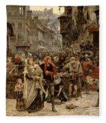 Atterdag Holding Visby To Ransom 1361 Fleece Blanket