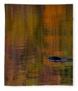Atumn Reflections Fleece Blanket