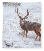 Atypical Buck Fleece Blanket