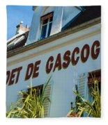 Au Cadet De Gascogne Fleece Blanket