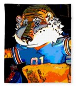 Auburn Tiger Fleece Blanket