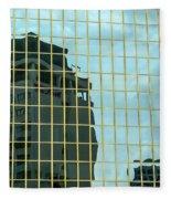 Auckland Reflection Fleece Blanket