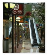 Auckland Shopping Mall Fleece Blanket