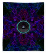 Audio Purple Glow Fleece Blanket