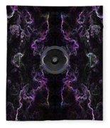 Audio Purple Neon Fleece Blanket