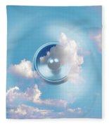 Audio Sky 1 Fleece Blanket