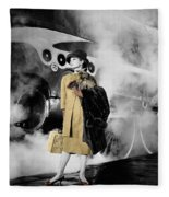 Audrey Hepburn 7 Fleece Blanket