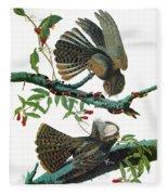 Audubon Chuck-will's Widow Fleece Blanket