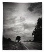 Auf Dem Heimweg Fleece Blanket