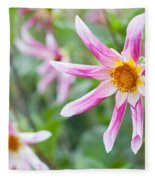 August Flower Gardens Fleece Blanket
